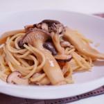 味噌きのこパスタの作り方・レシピ